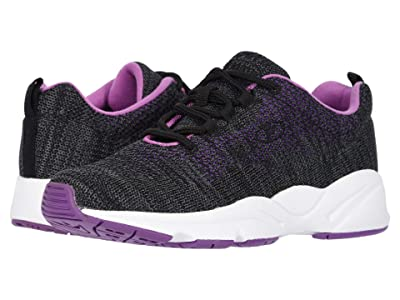 Propet Stability Fly (Black/Berry) Women