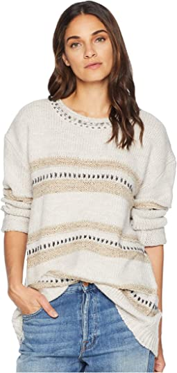 Spice of Life Stripe Pattern Sweater