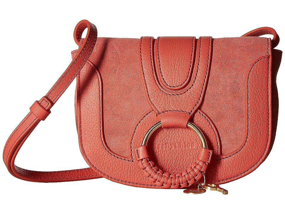 See by Chloe Hana Small Leather Crossbody Bag (Wooden Pink) Handbags