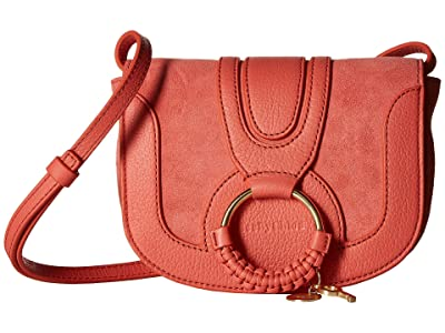 See by Chloe Hana Small Leather Crossbody Bag (Wooden Pink) Handbags