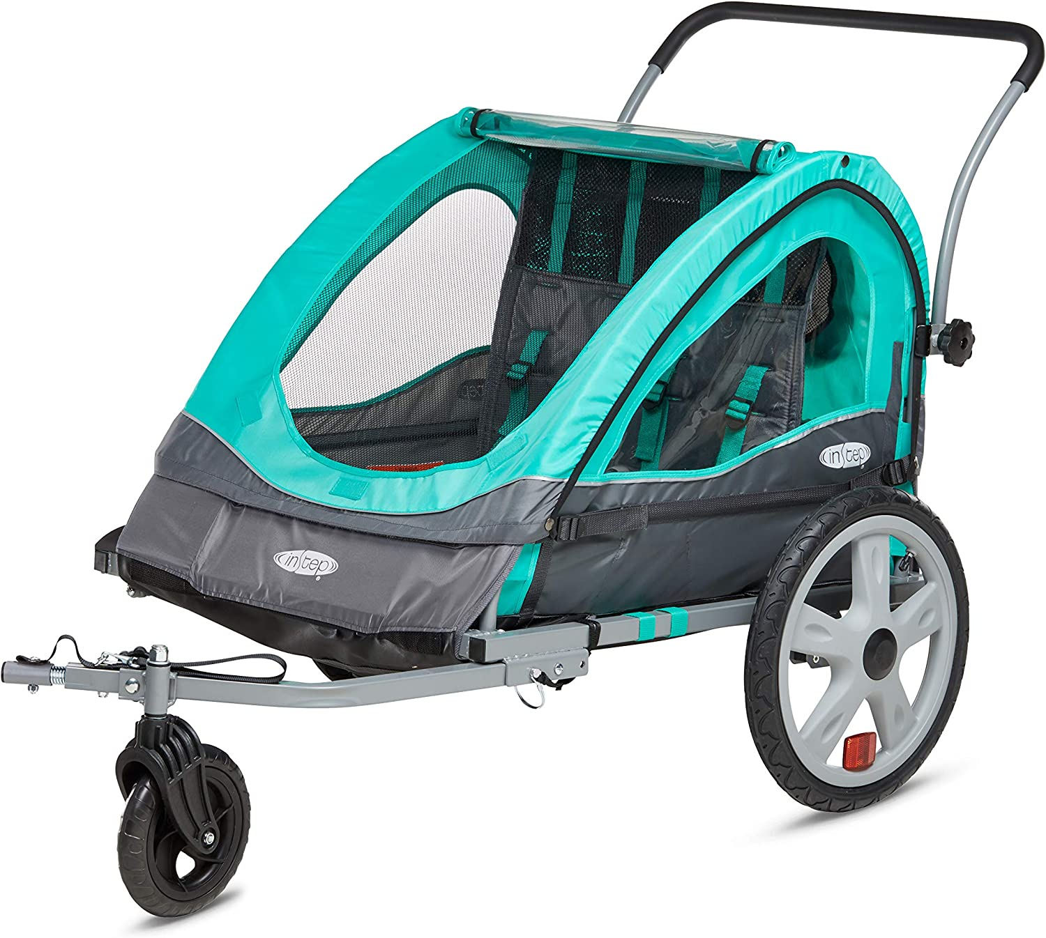 Detroit Mall Instep Quick-N-EZ Double Ranking TOP13 Tow Behind Trailer K Bike for Toddlers