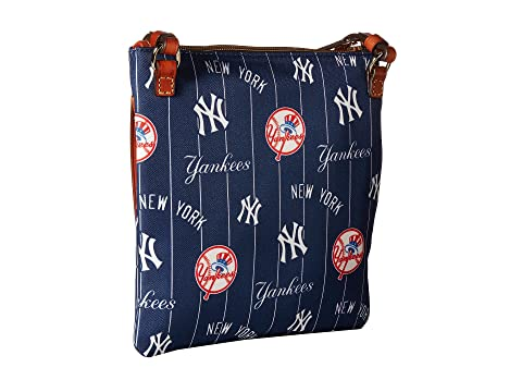 Dooney & Bourke MLB North/South Triple Zip Crossbody Bag Yankees Pick A Best For Sale Low Shipping Fee For Sale Cheap Sale Discounts nOgqbQC