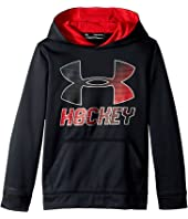 Under Armour Kids - Hockey Wordmark Hoodie 2.0 (Big Kids)