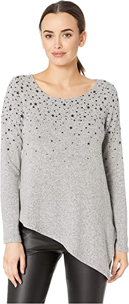 Star Print Sweater