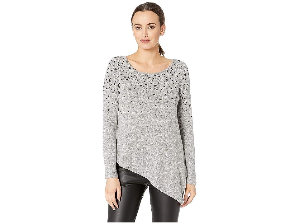 Karen Kane Star Print Sweater (Heather) Women