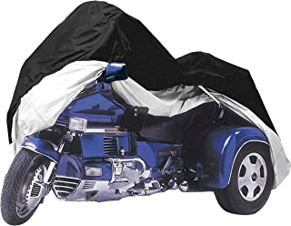 Formosa Covers Premium Trike Cover fits Honda Goldwing or Harley Davidson - One Size Fits All