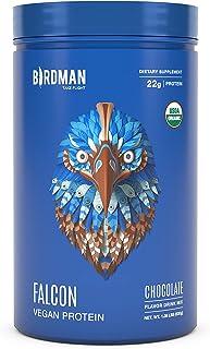 Sponsored Ad - Birdman Falcon Protein Premium Vegan Protein Powder, Plant-Based, Certified Organic, Kosher, Non Dairy, Ket...