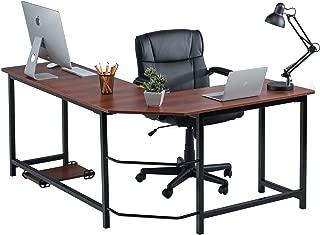fineboard corner desk