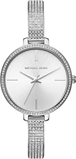 Michael Kors Women's Quartz Watch with Stainless Steel Strap