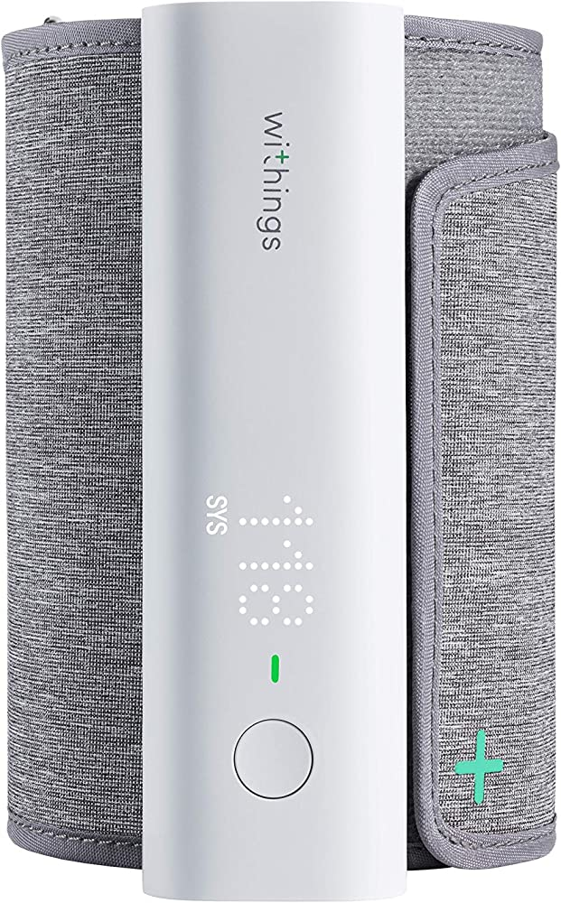 Withings bpm connect, misuratore di pressione da braccio digitale, connessione bluetooth, e wifi 3700546705984