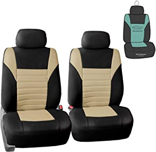 FH Group FB068102 Premium 3D Air Mesh Seat Covers Pair Set (Airbag Compatible) w. Gift,..