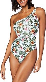 Marchio Amazon - Iris & Lilly Costume da Bagno con Cut out Donna