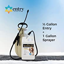 Branch Creek Entry Chloride-Free, Non-Toxic Liquid Ice Melt and Manual Pump Sprayer Bundle - Quick, Clean and Optimal Application–for Entrances and Sidewalks of Residential Properties (0.5 Gallon)