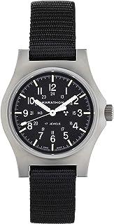 MARATHON WW194003SS Swiss Made Military Field Army Watch with ETA-2801 Movement and Tritium
