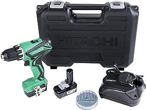 Hitachi DS10DFL2 12-Volt Peak Cordless Lithium Ion Compact Drill Driver Kit (Lifetime Tool Warranty)