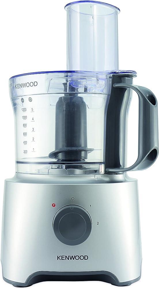 Kenwood robot da cucina con frullatore,2,1 litri FDP302SI MultiPro Compact