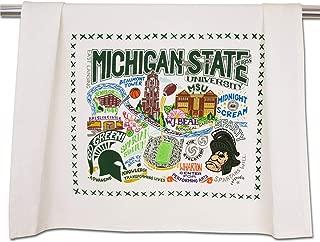 Catstudio Michigan State University Collegiate Dish & Hand Towel   Beautiful Award Winning Home Decor Artwork   Great For Kitchen & Bathroom