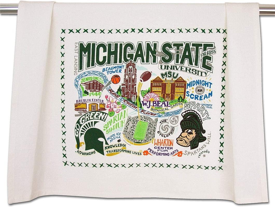 Catstudio Michigan State University Dish Towel Tea Towel Or Hand Towel