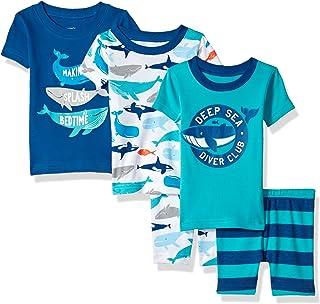 Carters Boys 5-Piece Cotton Snug-fit Pajamas