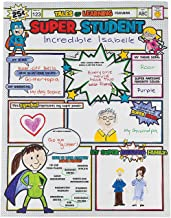 Fun Express Color Your Own Super Student Posters (30 Pack) Craft and Activities for Kids
