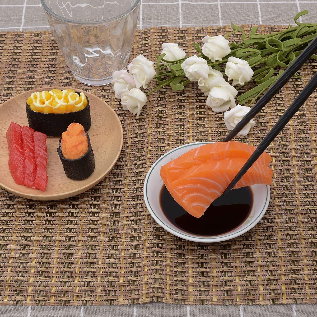 Five-color chopsticks 9 1//2 Inches 5-Pairs Fiberglass Chopsticks,Reusable Chopsticks Dishwasher Safe