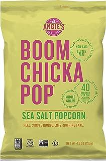 Angie's BOOMCHICKAPOP Sea Salt Popcorn, 4.8 oz