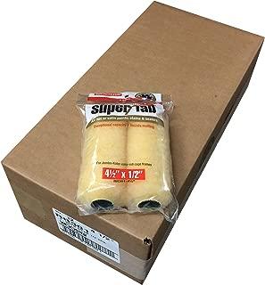 Wooster Brush RR301-4-1/2 Jumbo-Koter Super/Fab Roller, 1/2-Inch Nap, 2 Packs, Pack of 12
