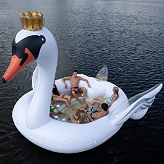 6-Person Inflatable Party Island Swan Island