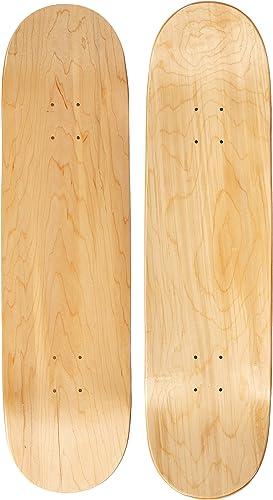 "Absolute Plain Wood Blue 8.5/"" X 30/"" Skateboard Old School Pool Shaped Deck Stree"