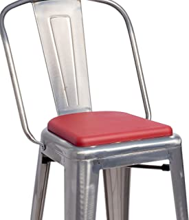 Best red bar stool cushions Reviews