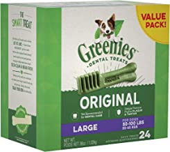 GREENIES Original Large Dog Natural Dental Treats