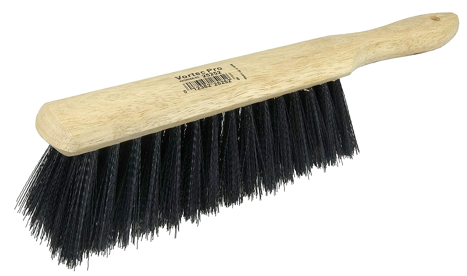 """Weiler 25252 8"""" Brush Length, Black Polystyrene Fill, Wood Block, Synthetic Counter Duster: Push Brooms: Industrial & Scientific"""