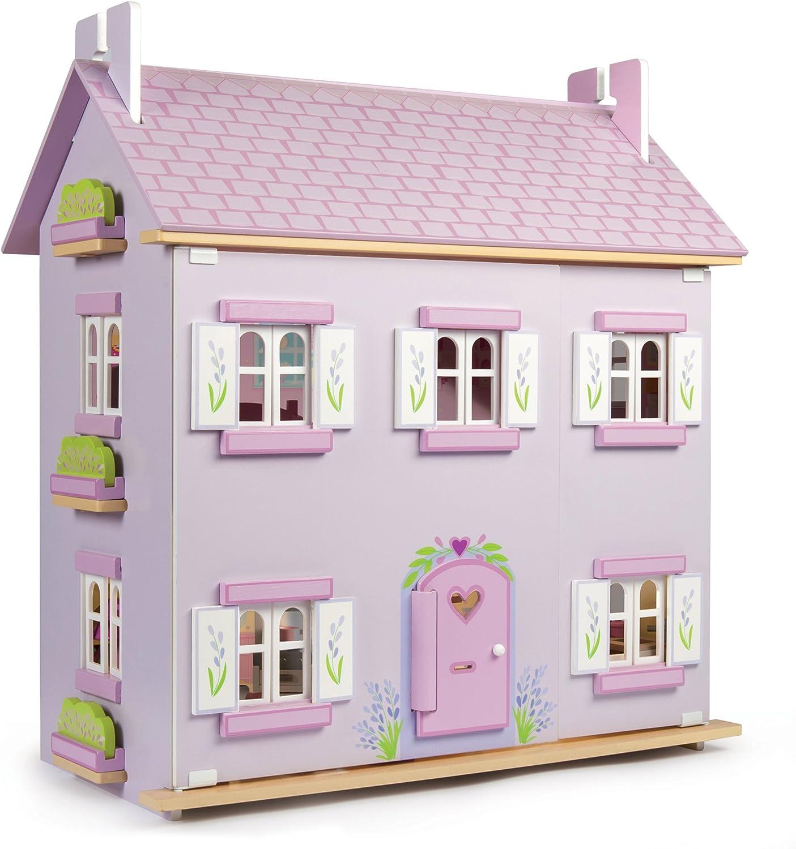 marcas en línea venta barata Le Juguete Van Lavender Lavender Lavender - Casa de madera  envío rápido en todo el mundo