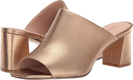 Gold Sand Metallic Nappa