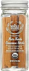 Whole Foods Market, Organic Fair Trade Cinnamon Sticks , 0.71