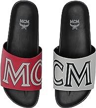 MCM Men's Contrast Logo Slide
