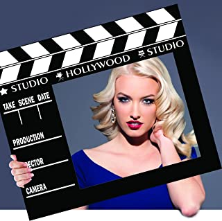 aahs!! Engraving Movie Awards Party Frame Photo Prop, 35 X 30 inches (Clapboard)
