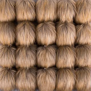 SIQUK 20 Pieces Faux Fur Pom Pom Balls DIY Faux Fox Fur Fluffy Pom Pom with Elastic Loop for Hats Scarves Gloves Bags Accessories
