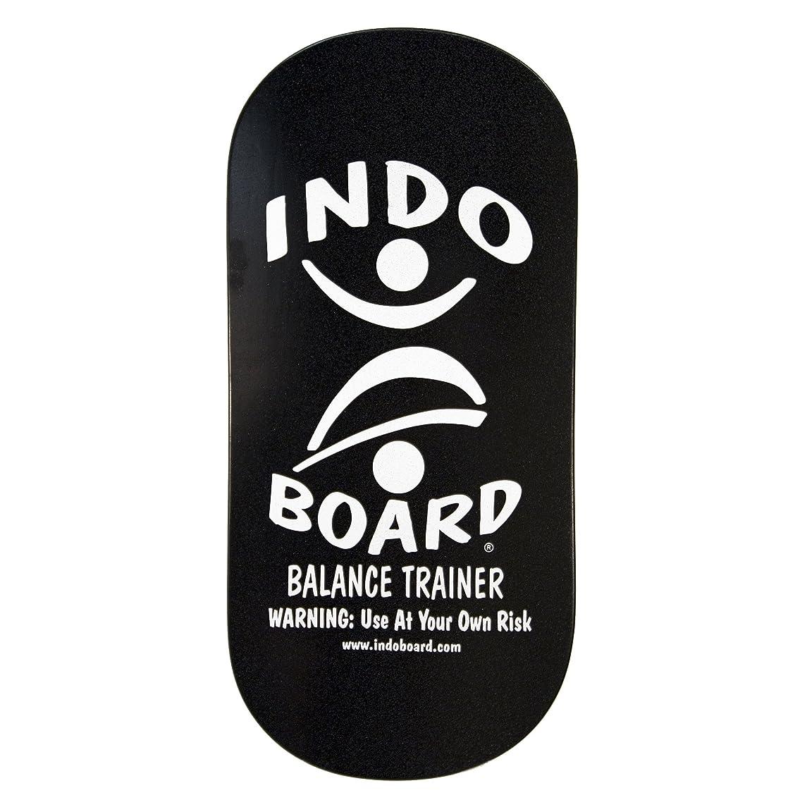 グラフィック切り刻む暗記するINDO BOARD(インドボード) バランスボード INDO ROCKER ボード単品 ブラック