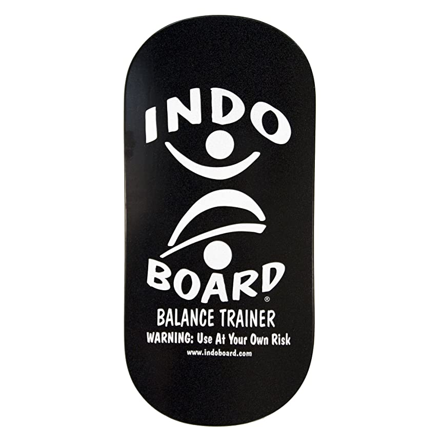今日ジャンピングジャック聖職者INDO BOARD(インドボード) バランスボード INDO ROCKER ボード単品 ブラック