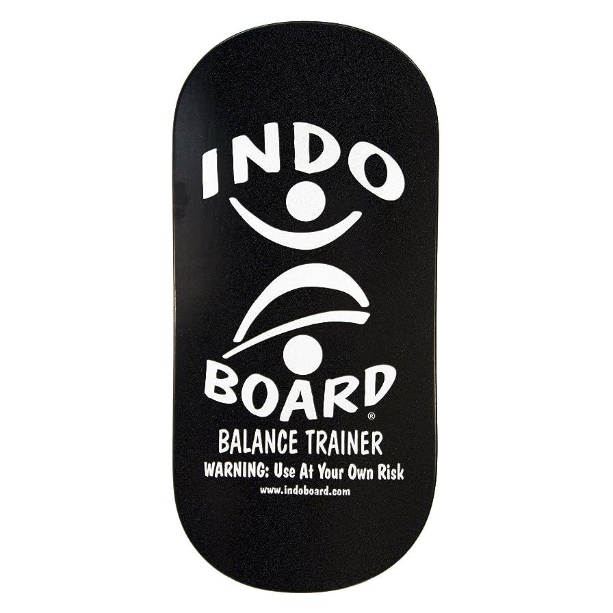動機付ける損傷デザートINDO BOARD(インドボード) バランスボード INDO ROCKER ボード単品 ブラック
