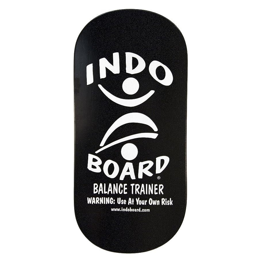 威する野な引き算INDO BOARD(インドボード) バランスボード INDO ROCKER ボード単品 ブラック