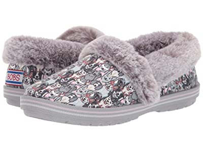 BOBS from SKECHERS Too Cozy (Gray/Multi) Women