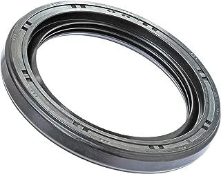 R23 (TC) Selladores de aceite – Junta de vástago de válvula de vástago giratorio de doble labio métrico, 80mm x 105mm x 13mm, Negro