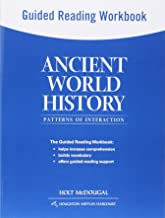 Ancient World History: Patterns of Interaction: Guided Reading Workbook