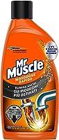 Mr Muscle Rapido, Stura lavandini e Scarichi, Monodose, Disgorgante Tubi, 500 ml