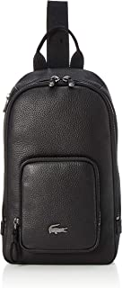 Lacoste NH3275SQ - Bolso bandolera para hombre, color negro, talla única
