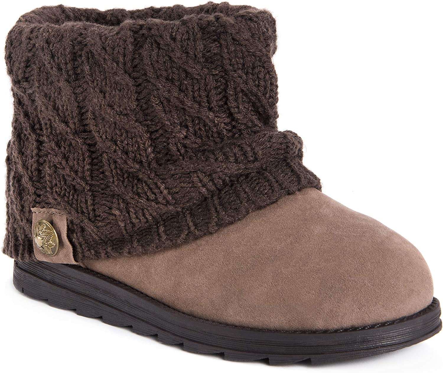 MUK LUKS Womens Women's Patti Short Boots Fashion Boot