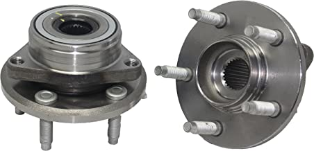 SCITOO Both 2 513100 New Complete Front Wheel Hub Bearing fit 1996-2005 Mercury Ford 5 Lugs