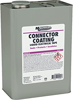 MG Chemicals Connector Coating, 1 Gallon Can, Black